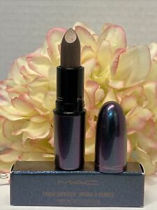 MAC Frost Lipstick -Noon Noir- New In Box Authentic Fast/Free Shipping