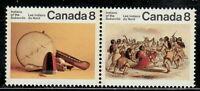 Canada #574-575 8¢ Subarctic Indians Pair MNH - A