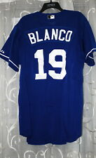 ANDRES BLANCO Game Used Practice Jersey KANSAS CITY ROYALS