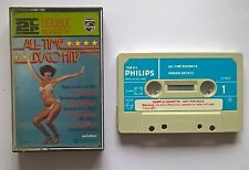 Cassette Various – All-Time Discohits Philips Disco Funk Soul Promo Paper Label