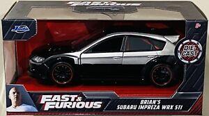 Jada Fast & Furious Brian's Subaru Impreza WRX STi 1/32 die cast Car