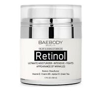 Baebody Retinol Moisturizer Cream for Face and Eye Area  Night Cream 1.7 Fl. Oz