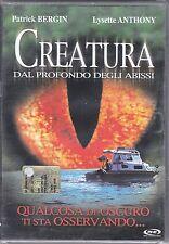 Dvd **CREATURA DAL PROFONDO DEGLI ABISSI** nuovo 2002