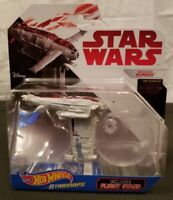Hot Wheels Starships Star Wars Die-Cast Resistance Bomber Includes Flight Stand