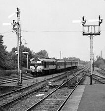PHOTO  1984 BRANCH TRAIN ENTERING BALLYBROPHY JUNCTION HEADED BY CIE 001 CLASS L