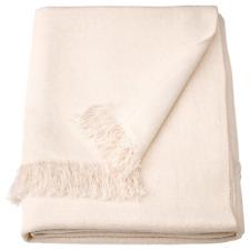 IKEA Ingrun throw, white, 130x170 cm
