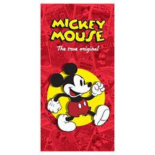 Toalla de Playa Esponja Algodón Disney Mickey Mouse Piscina Niño 2701