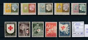 D193861 Netherlands MH 1953 Red Cross - Child Welfare