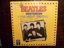 """7"""" THE BEATLES Yesterday / the nice before VG+/VG+ - ODEON 2C 010-04.454 FRANCE"""