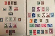 Bulgaria #191-226,252 Complete Set 1925-34 MH/Used