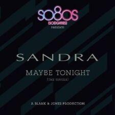 SANDRA - MAYBE TONIGHT (PRODUCED BY BLANK & JONES)  CD SINGLE NEW+