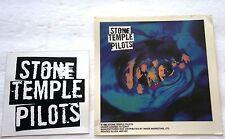 Vintage Retro Genuine Early 1990's Stone Temple Pilots Two 2-Unused Sticker Lot