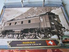Lokarchiv E Loks 148 Baureihe Be 4/6 Versuchslokomotive 12 302 SBB Schweiz