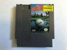 "NES Nintendo - Golf Grand Slam - Time to practice on your ""putz"""
