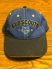 Youth Cub Scout Snapback Adjustable Cap Hat Blue