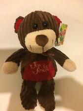 Joy in Jesus TEDDY Bear Plush Stuffed Animal Toy Quilted Corduroy NWT