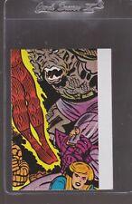 1975 Topps Marvel Super Hero Sticker PUZZLE PIECE