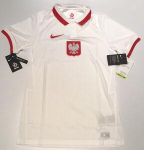Poland Home Jersey White 2020 Nike S-XL CD0722-100 NWT