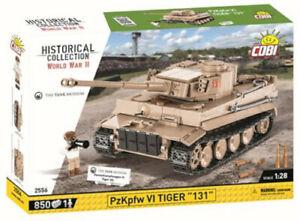 "COBI 2556 Panzerkampfwagen PzKpfw VI Tiger ""131"" Teile 850 Figur 1 NEU / OVP"