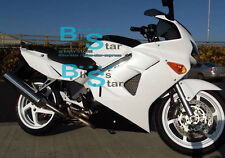 White Glossy ABS Fairing VFR800 Kit Fit HONDA VFR 800 1999 2000 1998-2001 36 A5