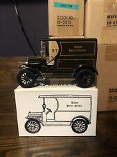UPS UNITED PARCEL SERVICE METAL 1913 OPEN FRONT PANELSIDE DELIVERY TRUCK[lot#61]