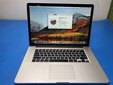 MacBook Pro 15-Inch Core i7 4870HQ 2.5 Mid-2014 (DG) MGXC2LL/A A1398 16Gb 512GB