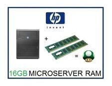 16GB -2x8GB DDR3 ECC Memory Ram Upgrade 4 HP ProLiant Microserver N36L N40L N54L