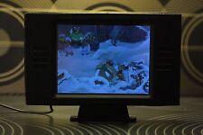 dollhouse miniature modern working TV, 1/12 scale
