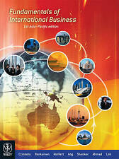 Fundamentals of International Business by Michael R.Czinkota 1st Asia Pacific Ed