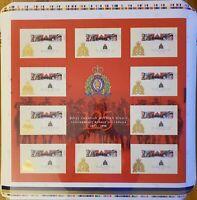Canada Stamp UNCUT PRESS SHEET#1737b - RCMP-125th Anniversary (1998) 2 x 45¢
