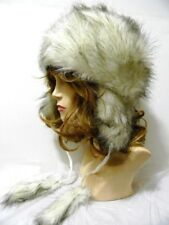 Faux Fur Warm Winter Fashion Trooper Fuzzy Furry Fashion Ear Flap NEW