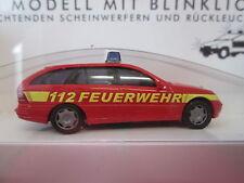 Busch Fahrzeugmarke MB Auto-& Verkehrsmodelle mit Einsatzfahrzeug