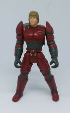 Star Wars 1996 Luke Skywalker red armor suit action figure vintage rare