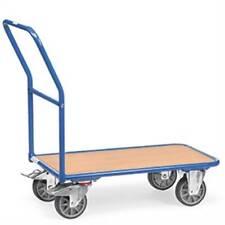 Magazinwagen mit Holzplattform, Tragkraft 400 kg, 70cm Breite