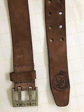 Diesel Men's Brown Leather Belt 95 cm