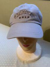 Callaway Womens Golf Cap Cotton Golf Hat Adjustable