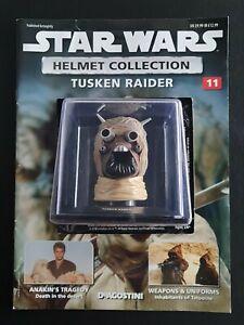 """Star Wars Helmet """"Tusken Raider"""" Issue 11 """"Deagostini"""" Collection"""