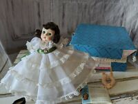 Vintage Madame Alexander Scarlett 425 Gone With The Wind 8 in. Doll Original Box