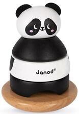 Janod Panda Empileur & Rocker Enfants Bois Éducatif Activité Jouet 12m+
