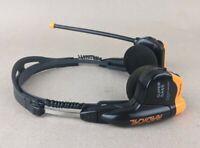 Aiwa Radical HR-RS17 Super Bass Headphone Radio AM/FM Stereo Retro Orange TESTED