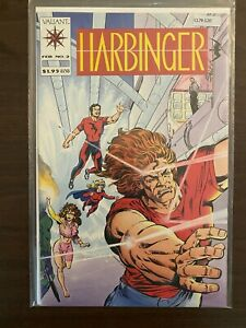 Harbinger 2 with Coupon High Grade Valiant Comic Book CL79-120
