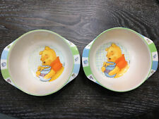 The First Years Winnie The Pooh Small Plastic Bowls Lot Of 2