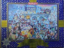 1000 PIECE JIGSAW PUZZLE WADDINGTONS SKATING AT TWILIGHT ON CHRISTMAS EVE