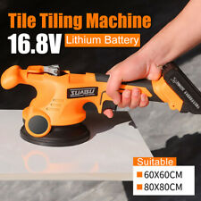 16.8V Tile Professional Tiling Tool Machine Vibrator Suction Cup mit Battery !