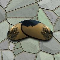 Bronze Copper Lenses Replacement for-Oakley Monster Dog Polarized