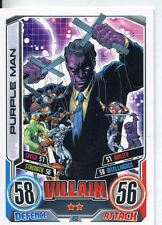 Marvel Hero Attax Series 2 Base Card #152 Purple Man