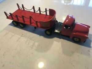 Tru-Scale International Ryerson Steel Stake Side Semi Tractor Trailer