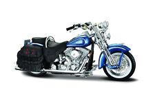 Harley-Davidson 1999 FLSTS Heritage Softail Springer 1:18 Modèle de maisto