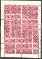 IRELAND Postage Dues: 1940-69 1½d vermilion - 96304