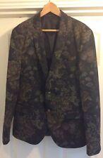 Men's River Island floral pattern jacket UK 42